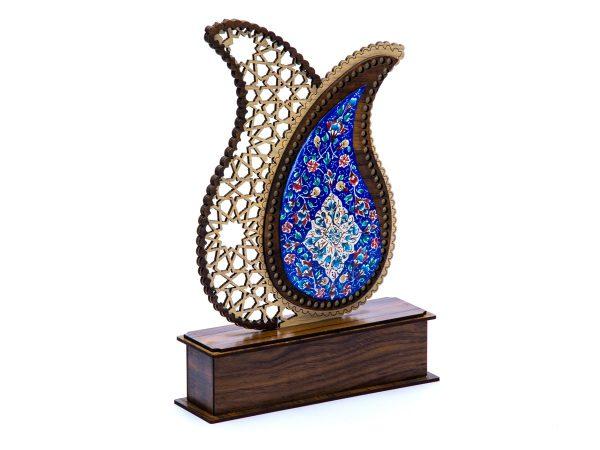 تندیس میناکاری اصفهان بته جقه