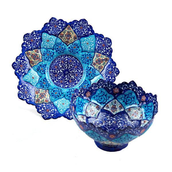 Bowl-plat-16cm minakari iran