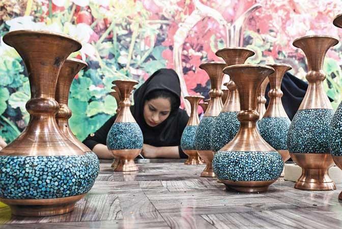 آموزش و خرید کلیه محصولات فیروه کوبی در اصفهان