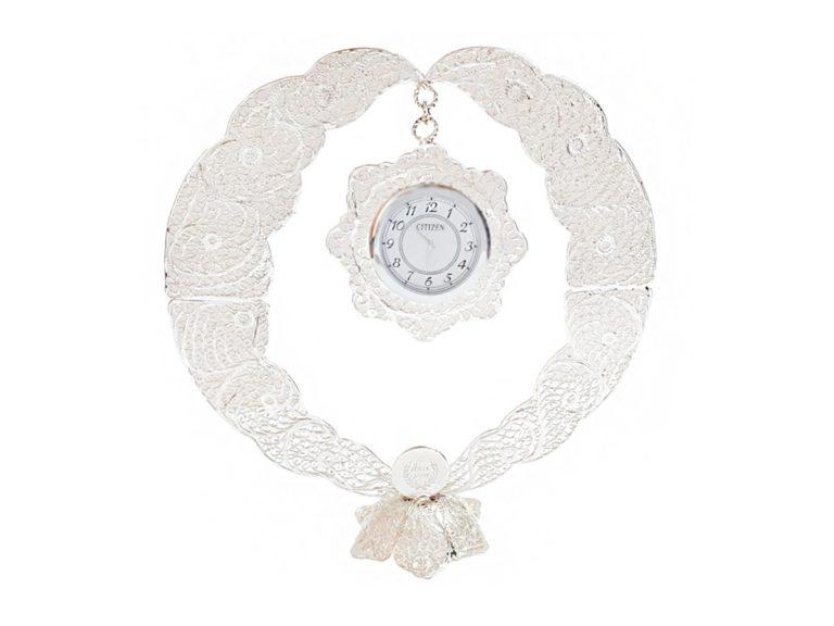 ساعت رومیزی ملیله مدل دایره ( Circle )