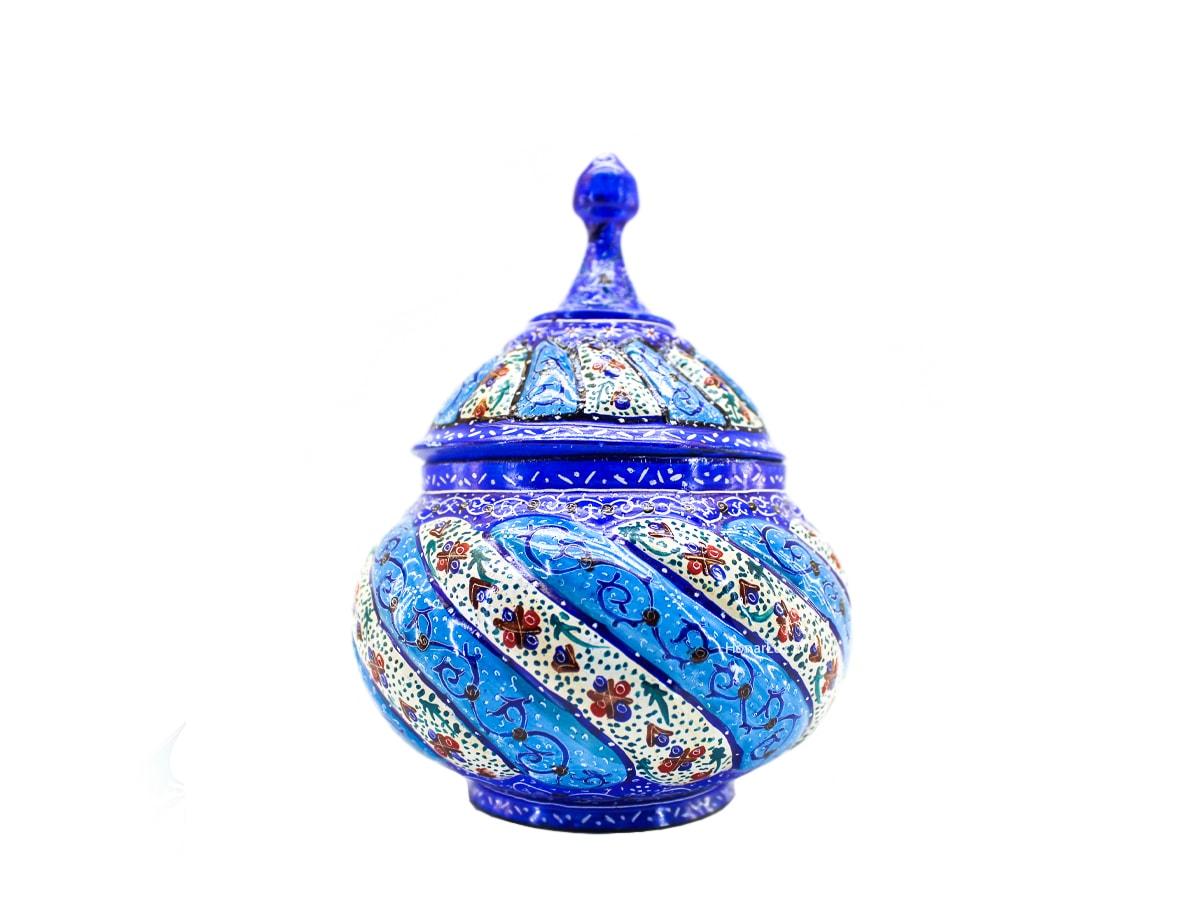 قندان مسی میناکاری اصفهان