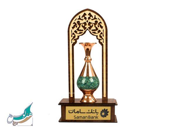 گلدان فیروزه کوبی اصفهان