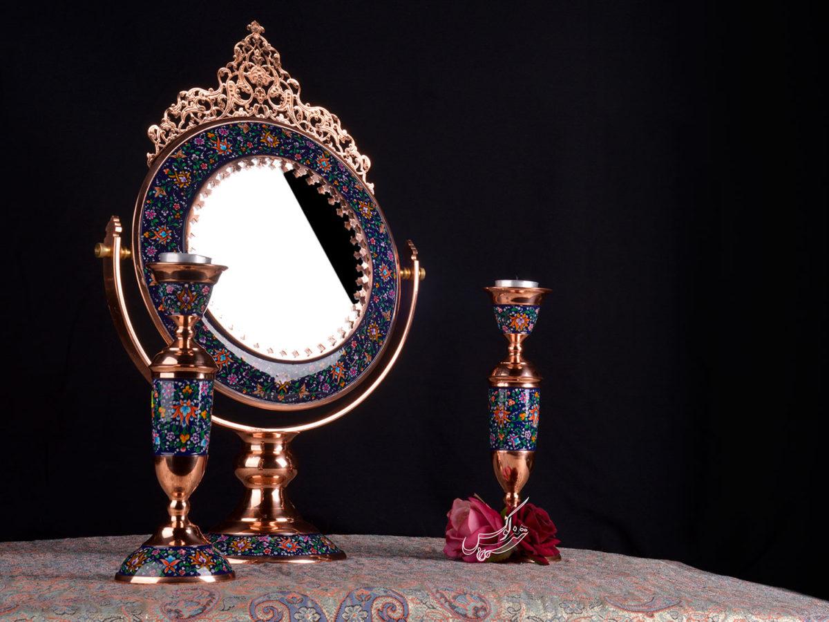 آینه و شمعدان عروس