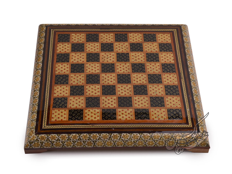 صفحه شطرنج خاتم کاری زیبا