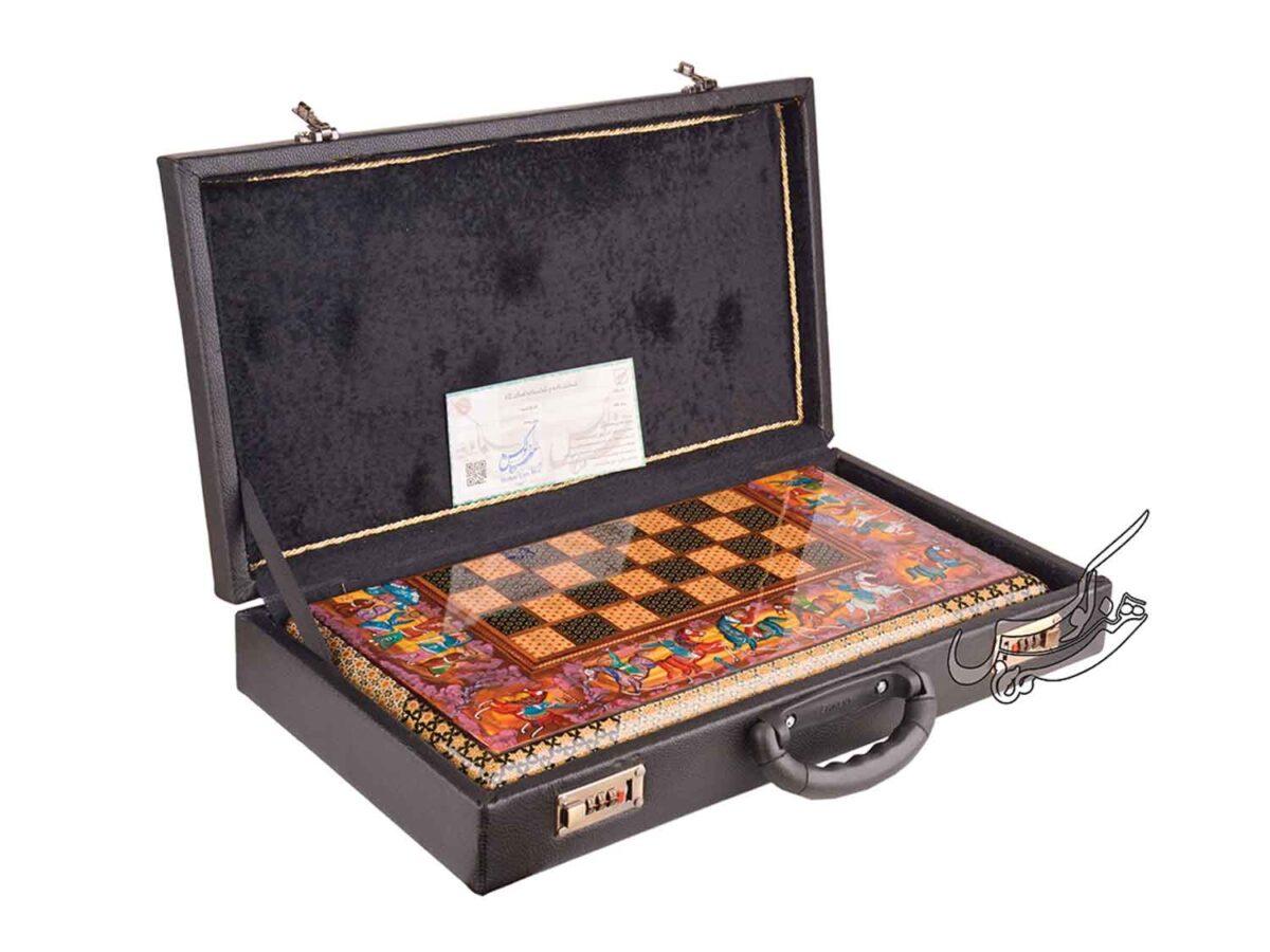 جعبه صفحه شطرنج و تخته نرد