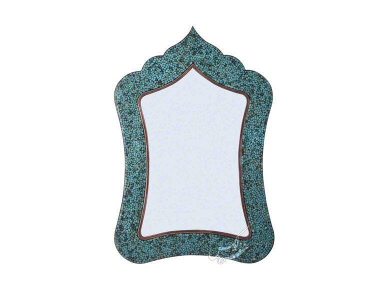 آینه فیروزه کوب مستطیل