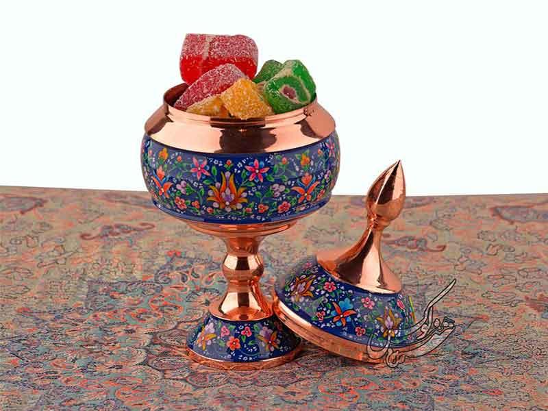 شکلات خوری مس و پرداز هنرلوکس