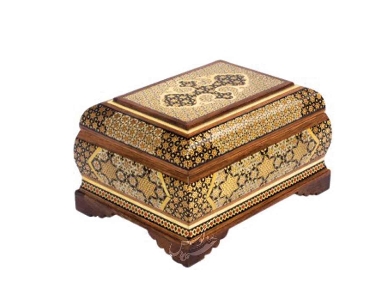 جعبه جواهرات خاتم اصل طرح حورا