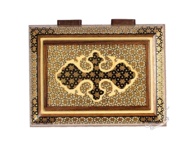 جعبه جواهرات خاتم مدل حورا