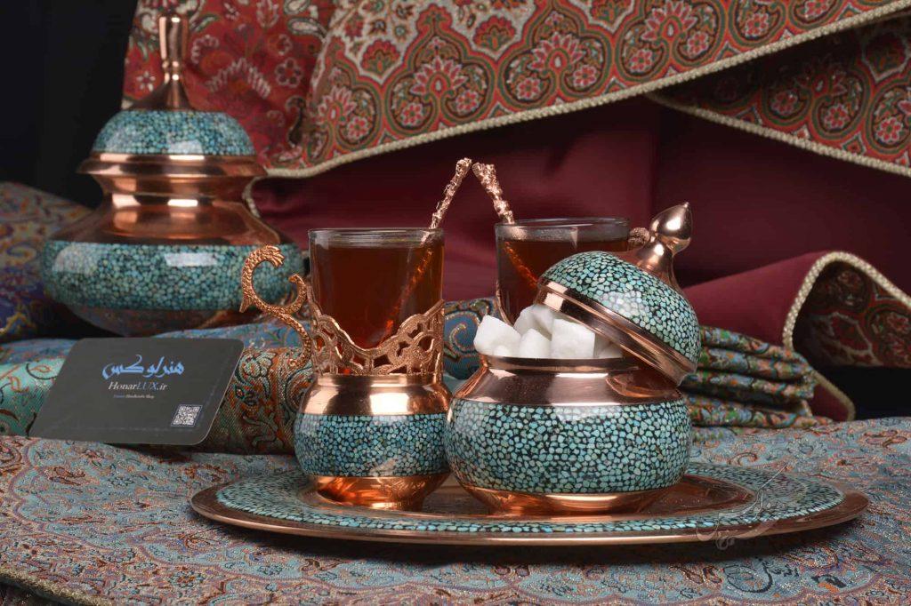 چای خوری فیروزه کوبی اصفهان آقاجانی