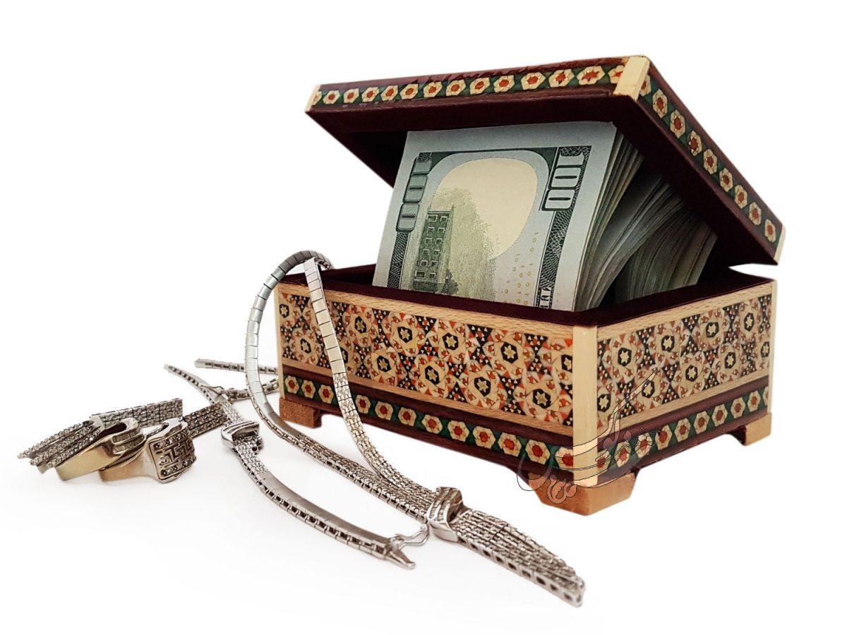 جعبه لوکس جواهرات
