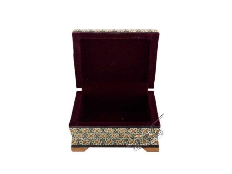 جعبه لوکس خاتمکاری جواهرات